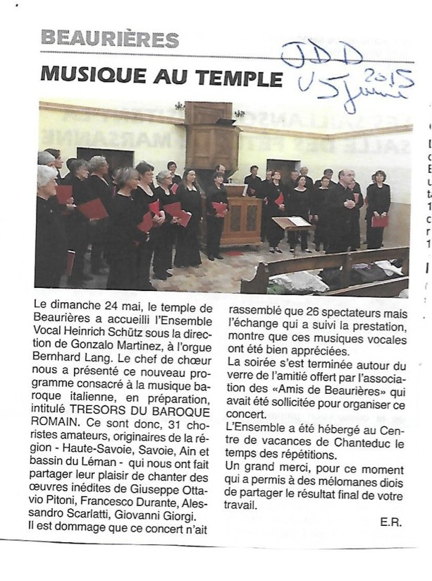 2015 article concert après Beaurières