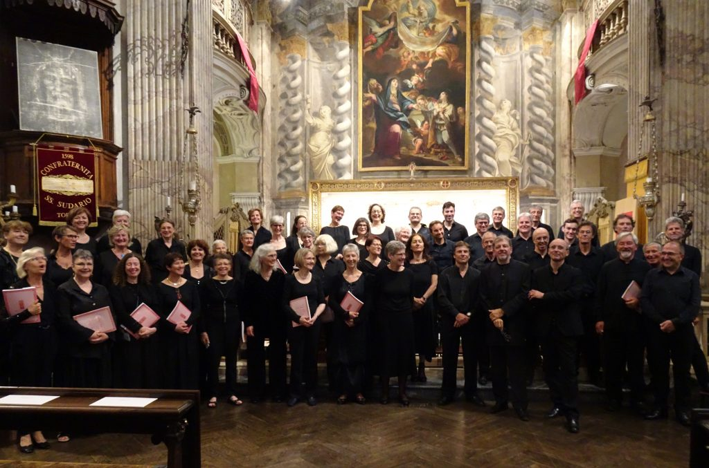 Ensemble vocal H.Schütz - concert Turin - Vêpres Rachmaninov - Chœur Schütz -